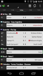 The Soccer Livescore App