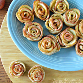 Apple Rose Tarts for Snacks and School Lunches