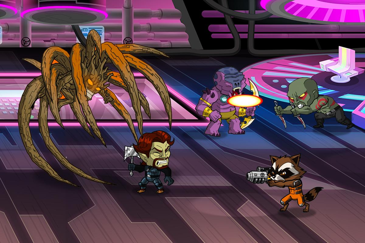 Guardians of the Galaxy: TUW screenshot #6