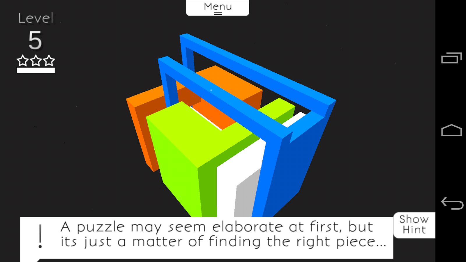 UnLink - The 3D Puzzle Game - screenshot