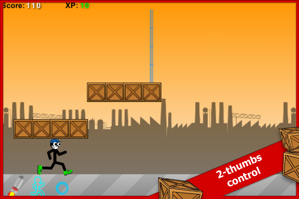 Stick Run Mobile Deluxe - screenshot