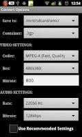 Screenshot of Key for Video Converter