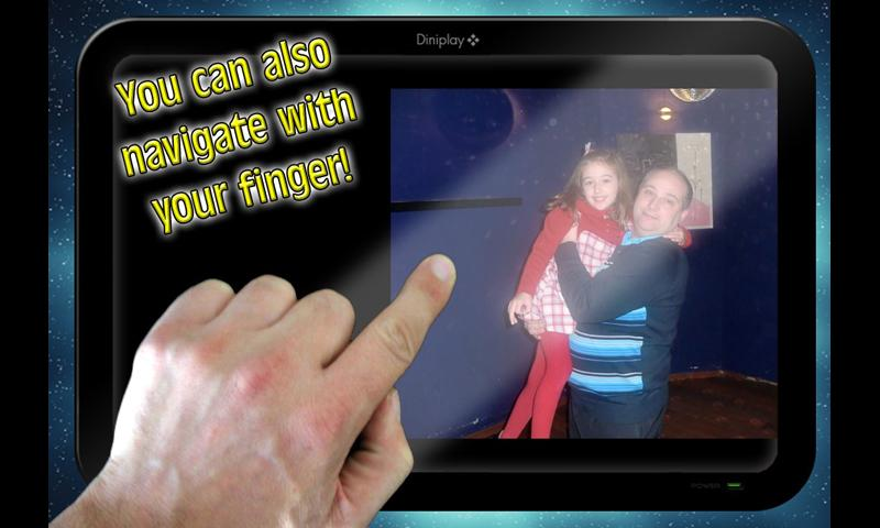 Digital Photo Frame Demo- screenshot