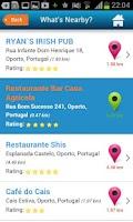 Screenshot of Porto Guide Hotels Weather
