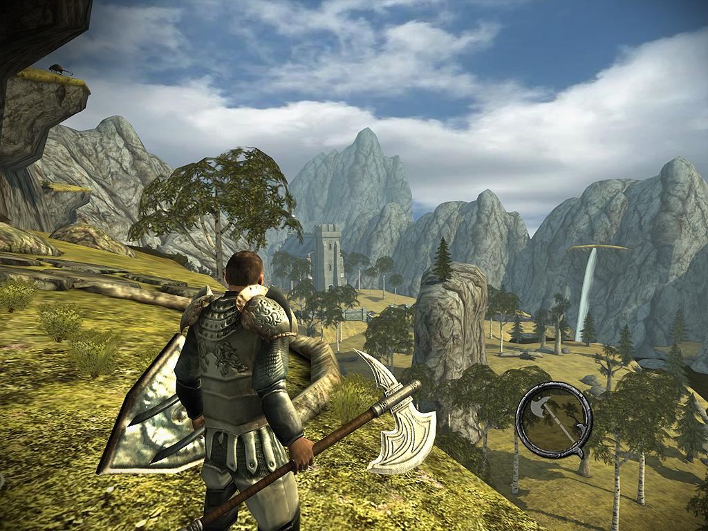 Ravensword: Shadowlands 3d RPG- screenshot