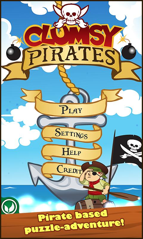 Clumsy Pirates- screenshot