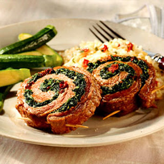 Spinach-Stuffed Flank Steak Recipe