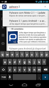 Pplware - screenshot thumbnail