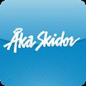 Åka Skidor logo