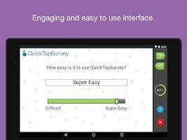 Screenshot of QuickTapSurvey Offline Survey