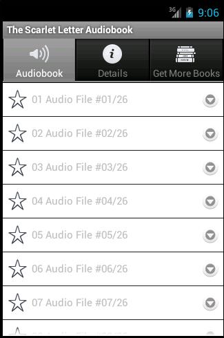 The Scarlet Letter Audiobook - screenshot