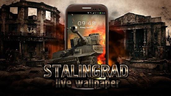تصویر زمینه متحرک استالینگراد Stalingrad Live wallpaper v1.0.0