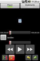 Screenshot of BookDroid (Android 2.1)