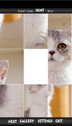 Cat Wallpaper Puzzle