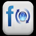 Facebook Status Updater logo