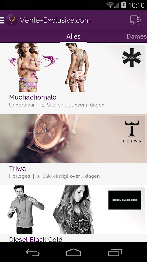 Vente android apps on google play - Vente exclusive belgique ...