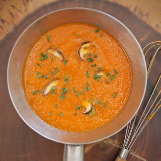 Carrot + Ginger Soup