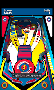 Peligro Sin Codificar PinBall - screenshot thumbnail