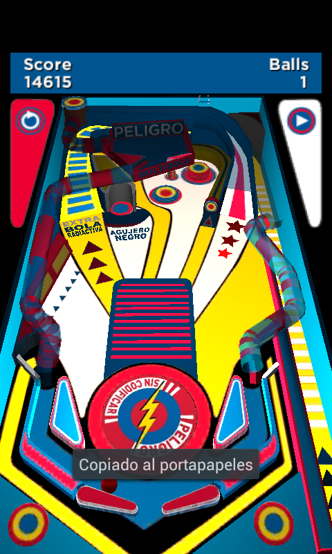 Peligro Sin Codificar PinBall - screenshot