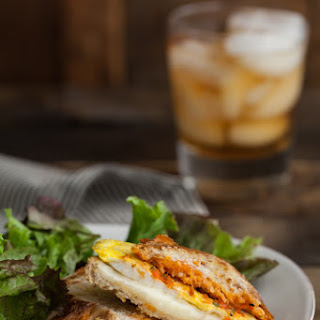 Harissa + Egg Grilled Cheese Sandwich