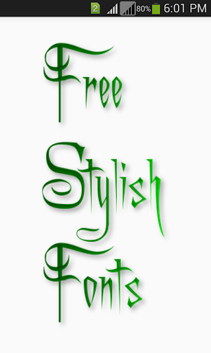 Download Stylish Fonts Apk Latest Version » Apps and Games on
