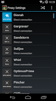 Screenshot of Proxy Settings