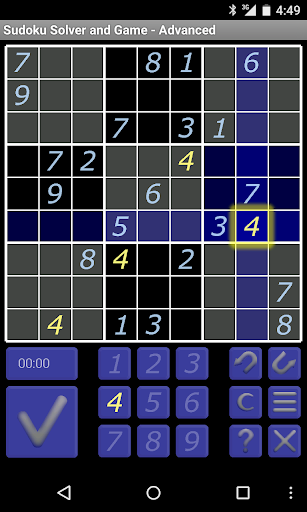 Sudoku Solver and Game - Free