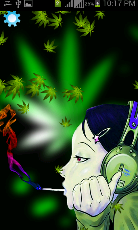 weed marijuana live wallpaper android apps on google play