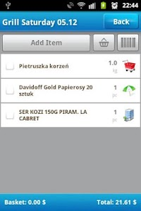Shopping List screenshot 2