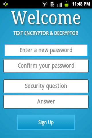 Text Encryptor Decryptor-SL