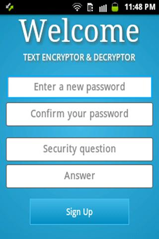 Text Encryptor & Decryptor-SL - screenshot