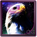 Starfield Eagle Galaxy LWP icon