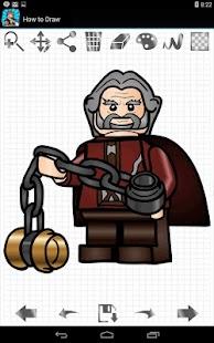 如何绘制Lego Hobbits