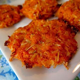 Cheesy Sweet Potato Crisps