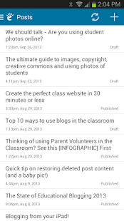 Edublogs- screenshot thumbnail