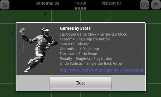 GameDay Stats - Lacrosse- screenshot thumbnail