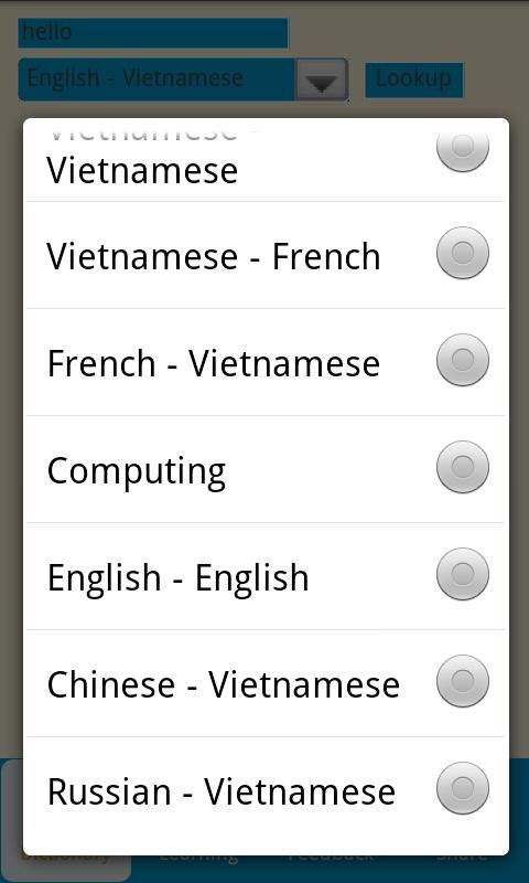 Vietnamese Dictionary Free - screenshot