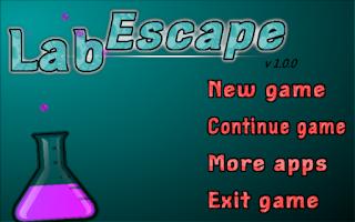 Screenshot of Lab Escape