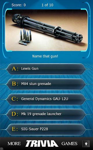 Name that Gun Trivia