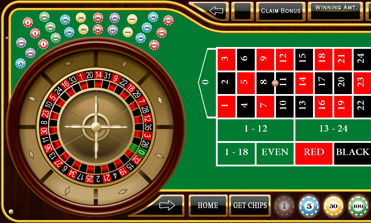Tabla para ganar en blackjack
