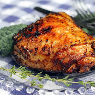 Honey Barbecued Chicken.