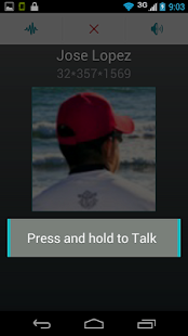Prip Push-To-Talk service - screenshot thumbnail