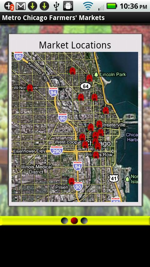 Metro Chicago Farmers Markets - screenshot