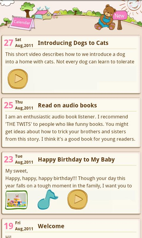 Teddy's Diary(Free)- screenshot