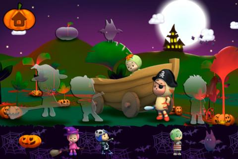 Halloween Sticker Book Lite- screenshot