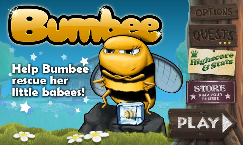Bumbee- screenshot