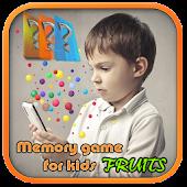 kids memory game 2 : FRUITS