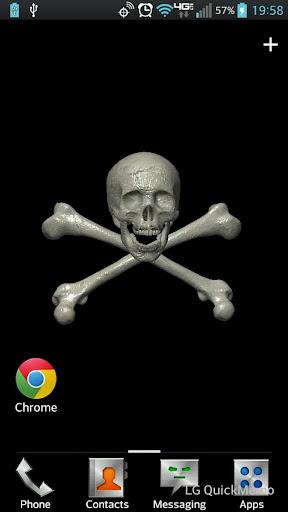 Skull Crossbones LWP