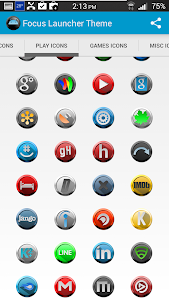 Focus Icons Nova/Apex/ADW v1.0