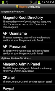 Magento Mobile Alerts - screenshot thumbnail